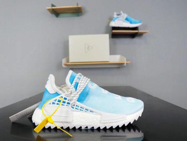 Giày Adidas NMD Human Race xanh nước biểnGiày Adidas NMD Human Race xanh nước biển