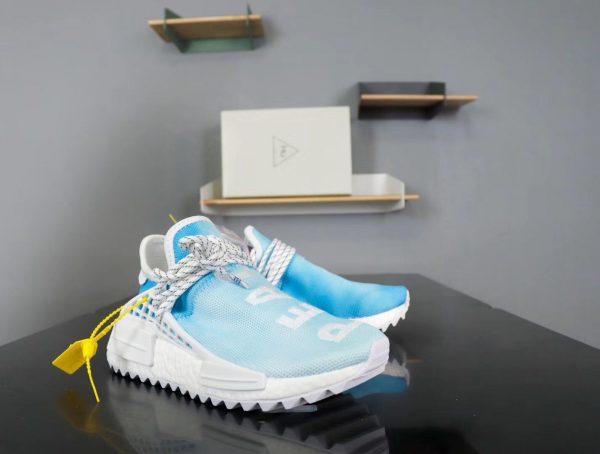 Giày Adidas NMD Human Race xanh nước biển
