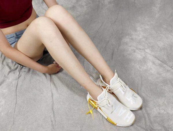 Giày Adidas NMD Human Race màu vàng