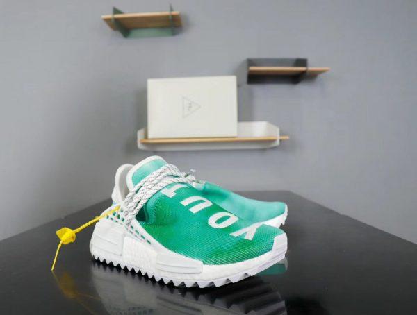 Giày Adidas NMD Human Race xanh lá cây