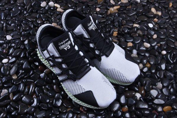 Giày Adidas Futurecraft 4D đen ghi
