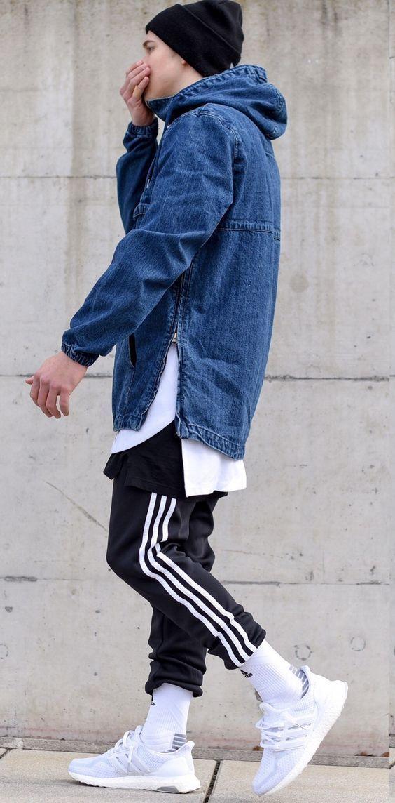 Phối đồ với giày ultra boost