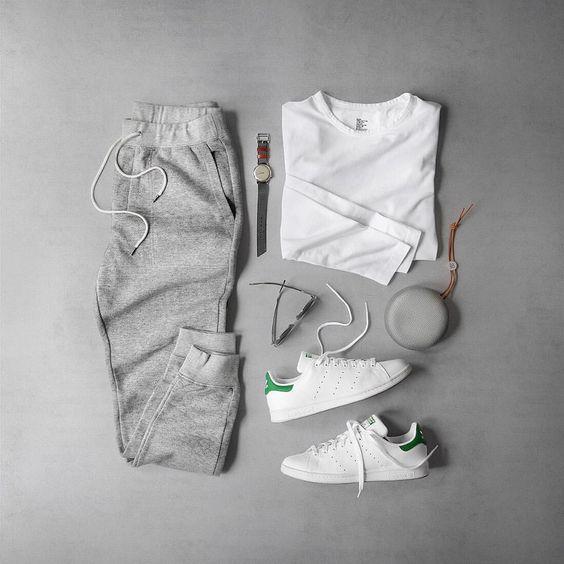 Cách mix đồ với giày adidas stansmith