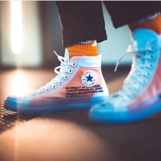 Giày converse off white chống nước