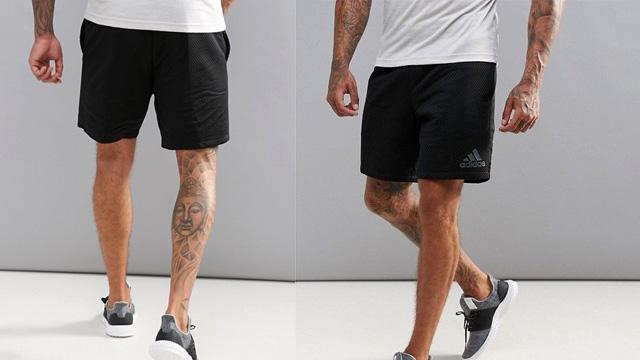 Quần short tập gym adidas