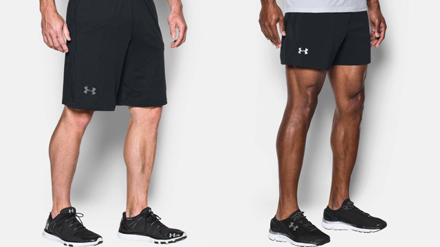 Quần short tập gym Under Armour