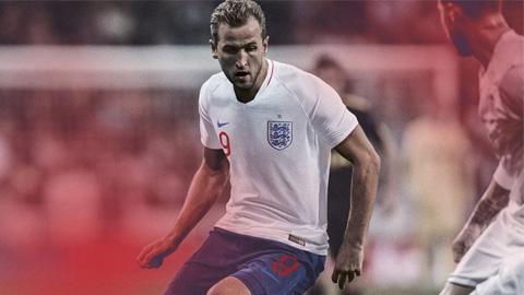 Áo Nike tuyển Anh lượt về