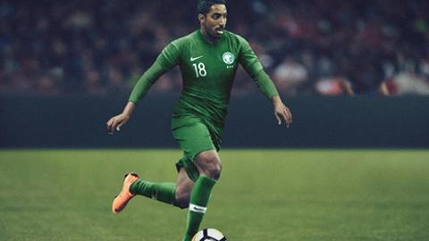 Áo Nike tuyển Ả Rập Saudi lượt đi