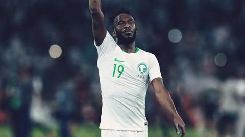 Áo Nike tuyển Ả Rập Saudi lượt về