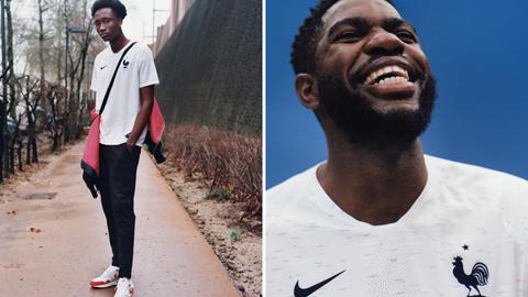 Áo Nike tuyển Pháp lượt đi