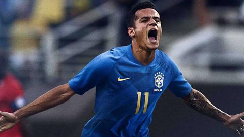 Áo Nike tuyển Brazil đi