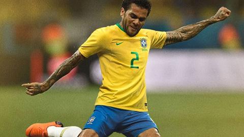 Áo Nike tuyển Brazil về
