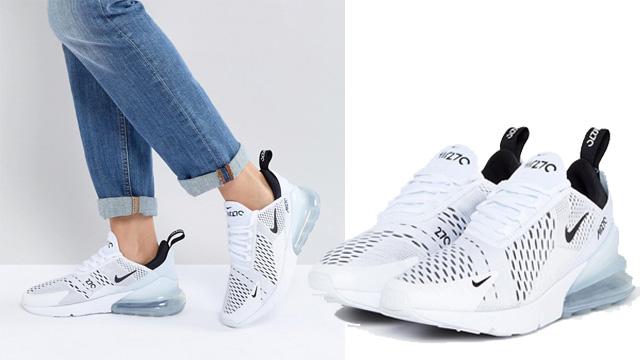 Giày Nike Air Max 270 trắng