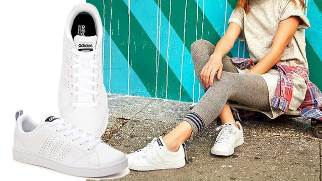 Giày sneaker trắng adidas Neo