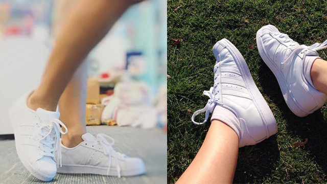 Giày adidas Superstar trắng