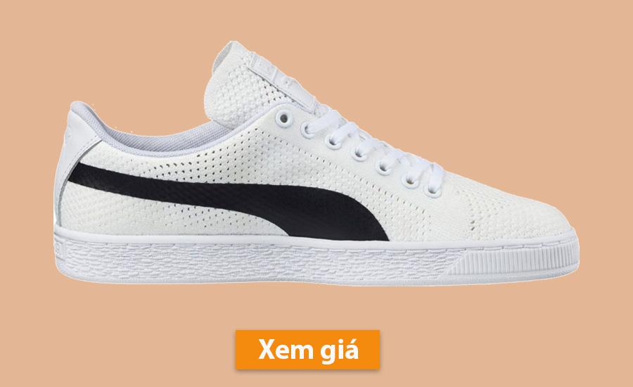 Giày tập gym nam Puma Basket Classic evoKNIT