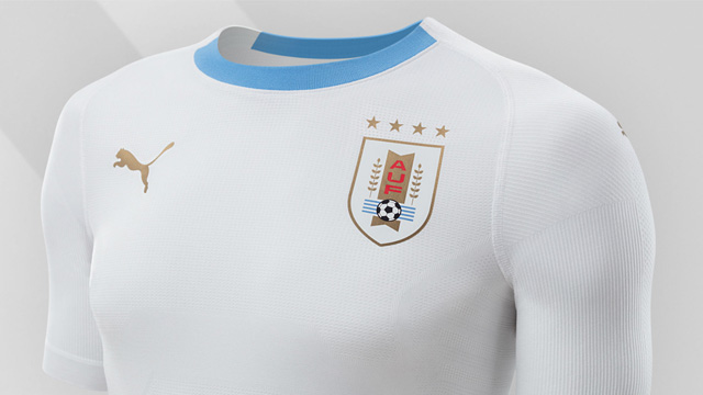 Áo Puma tuyển Uruguay đi