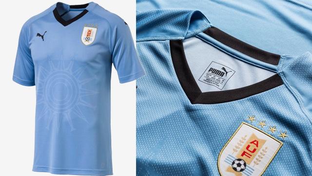 Áo Puma tuyển Uruguay về