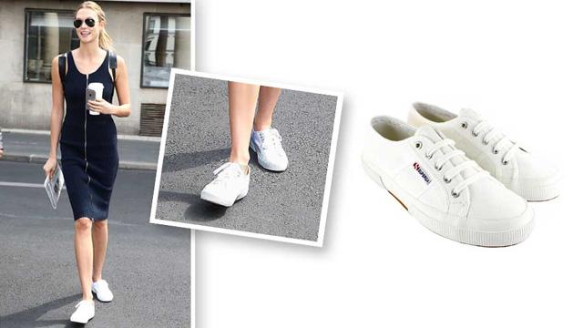 Giày sneaker nữ trắng Superga Classic