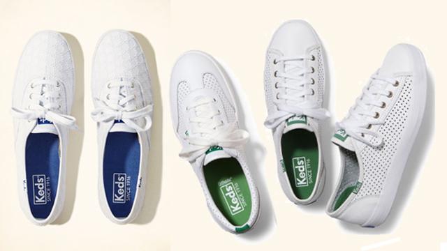 Giày sneaker nữ trắng Keds Classic