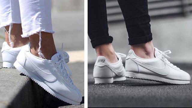 giày sneaker nữ trắng Nike Cortez