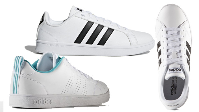 Giày sneaker nữ trắng adidas Neo