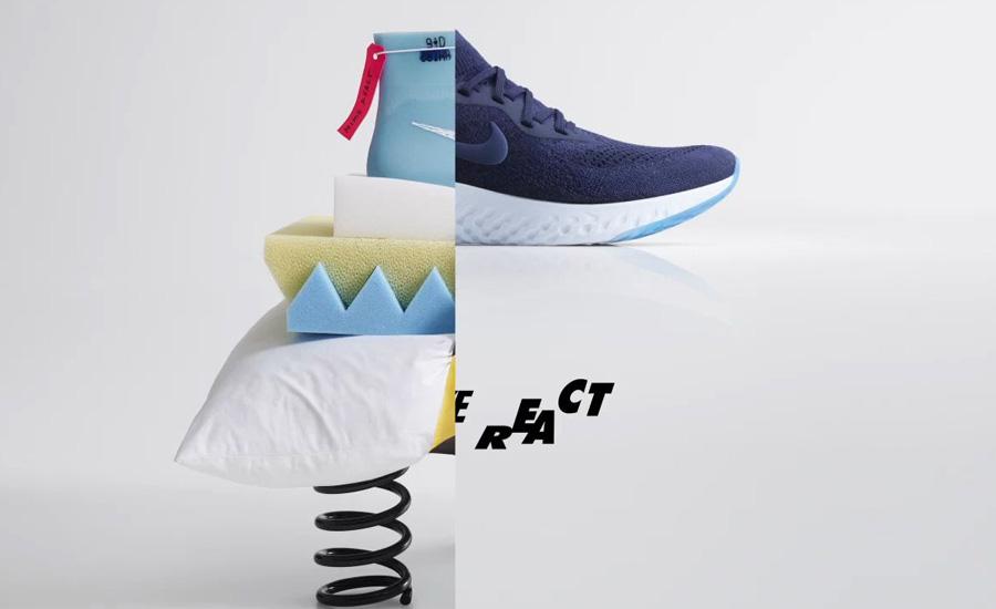 Đế giày Nike React