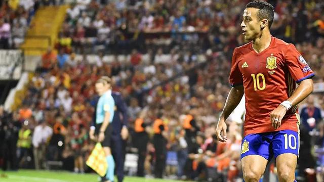 Đội tuyển Tây Ban Nha Thiago