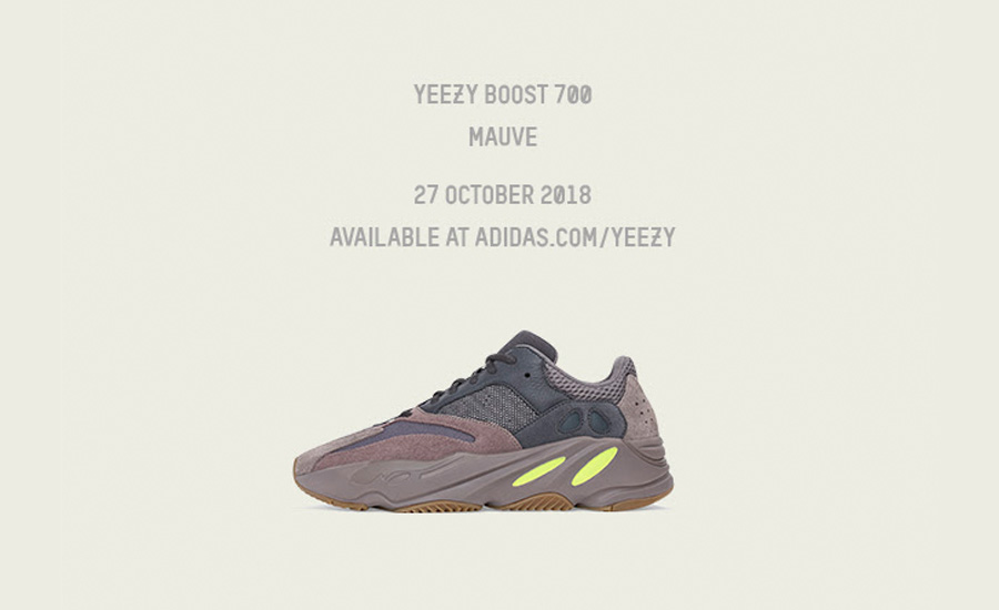 Giày Yeezy Boost 700 Mauve