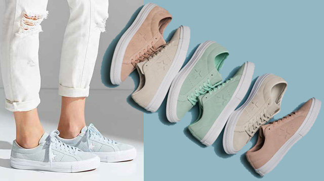 Giày Converse One Star Suede