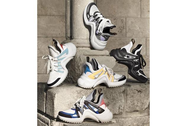 Giày nữ Louis Vuitton Archlight