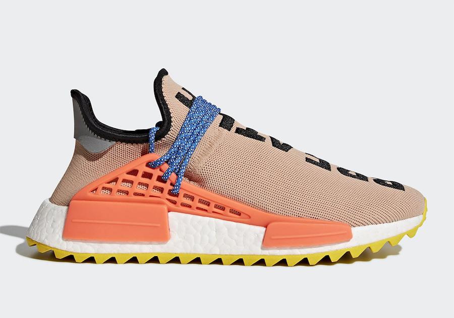 Cận cảnh 5 phối màu của Pharrell x adidas Originals Hu NMD Trail sẽ được restock trong tuần này