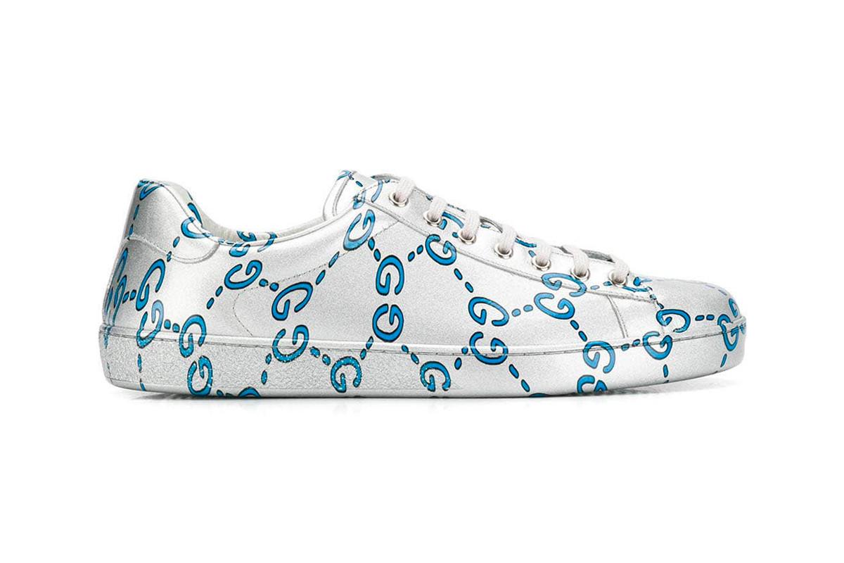 Xuất hiện phiên bản sneakers basic mới Gucci – Gucci Ace Sneaker