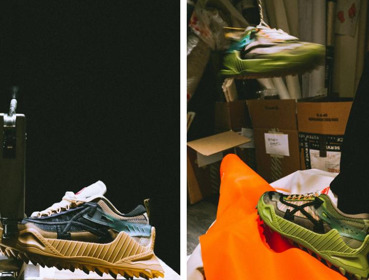 Off-White chuẩn bị phát hành phiên bản sneakers mới tại một tiệm hoa