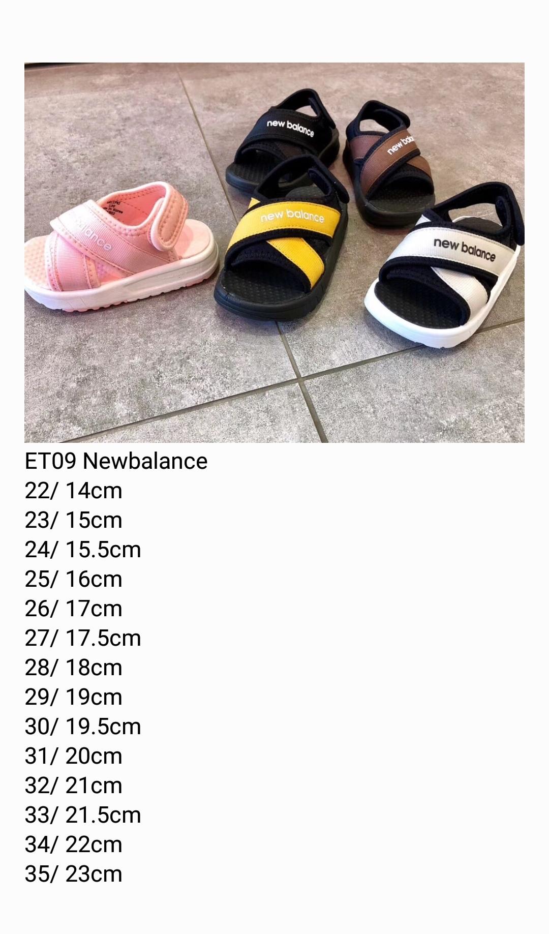 Sandal new balance trẻ em màu hồng SD001