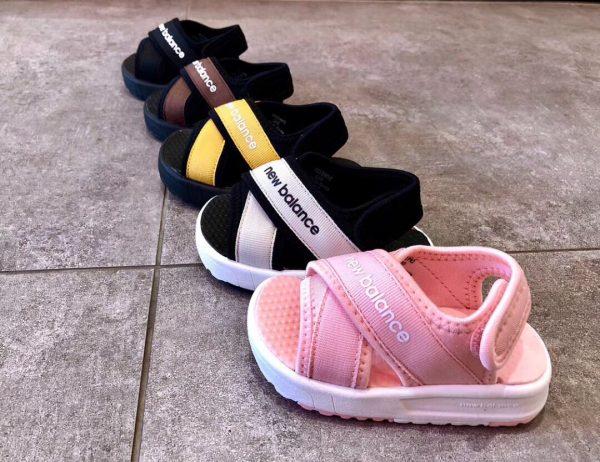 Sandal trẻ em màu nâu đen SD002
