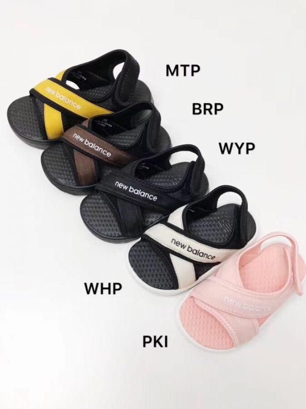 Sandal trẻ em màu đen SD003