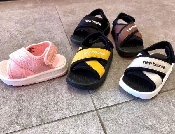 Sandal trẻ em màu vàng SD005