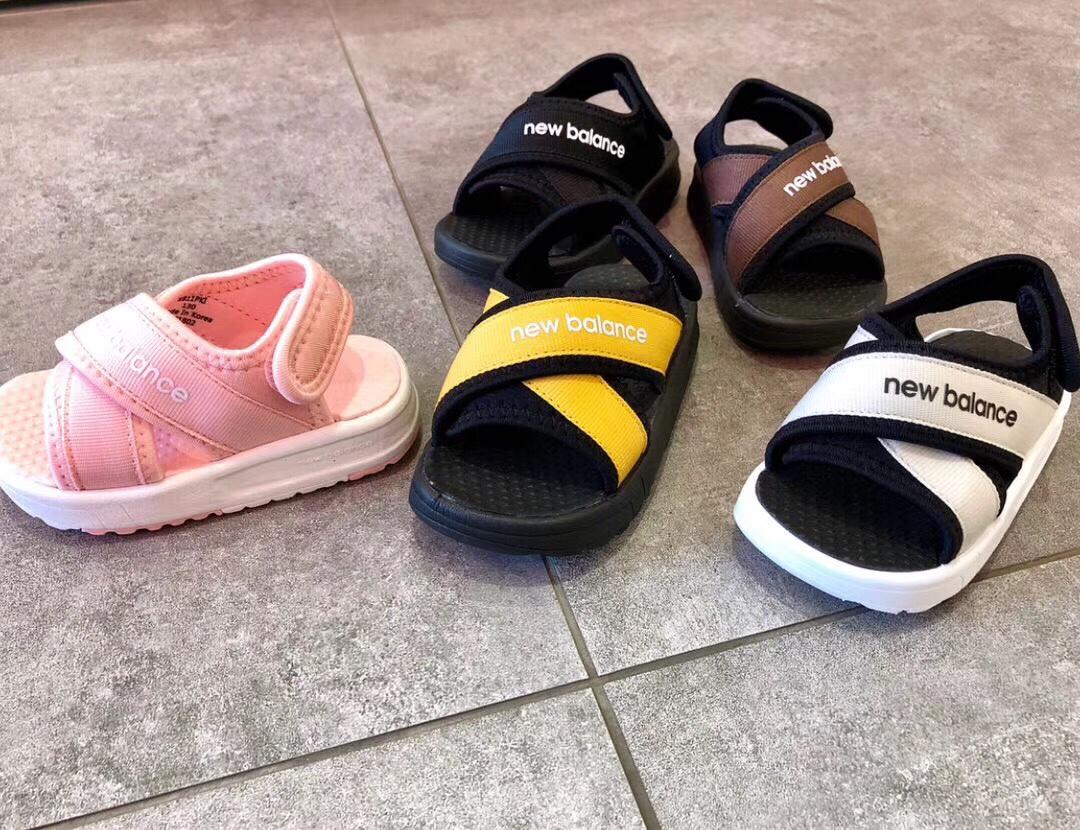 Sandal new balance trẻ em màu vàng SD005