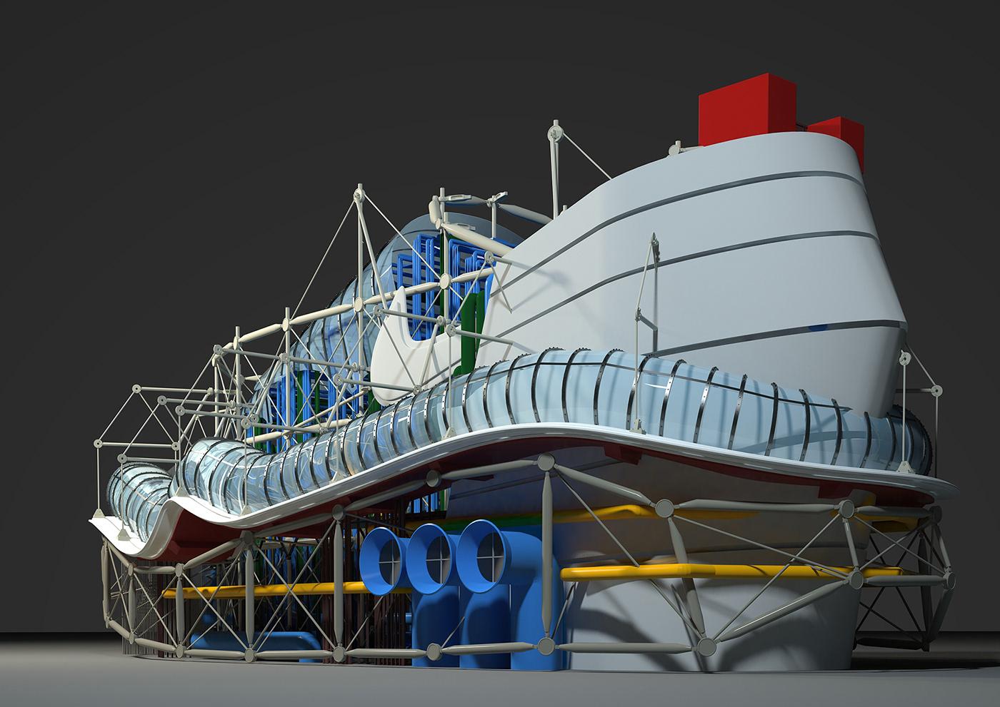 Ấn tượng với những ý tưởng công trình lấy cảm hứng từ Nike