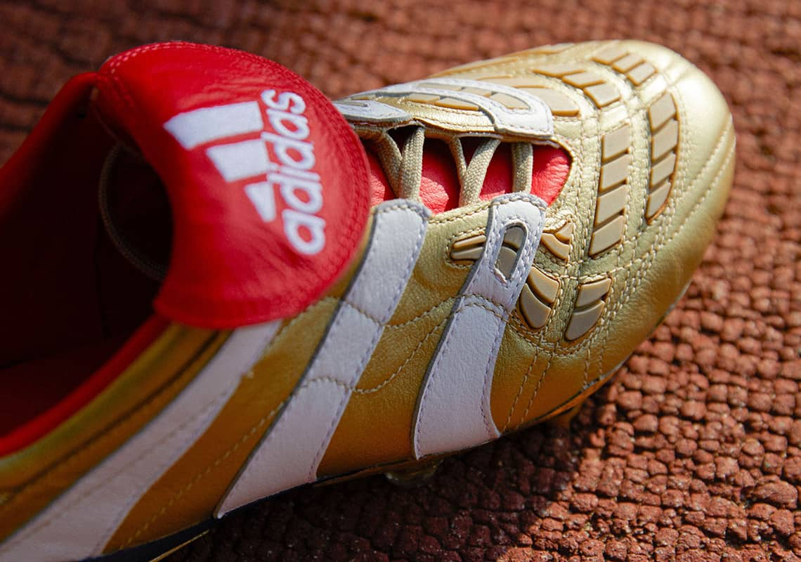 adidas kỷ niệm 25 năm dòng Predator với hai siêu sao David Beckham và Zinedine Zidane