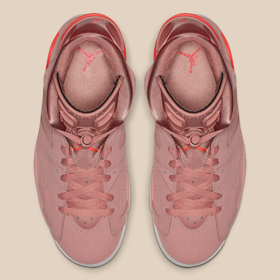 Aleali May x Air Jordan 6 xuất hiện hình ảnh chính thức