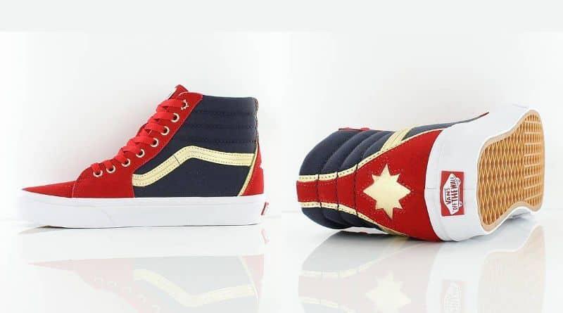 """Những thiết kế sneakers """"ăn theo"""" Captain Marvel ấn tượng nhất"""