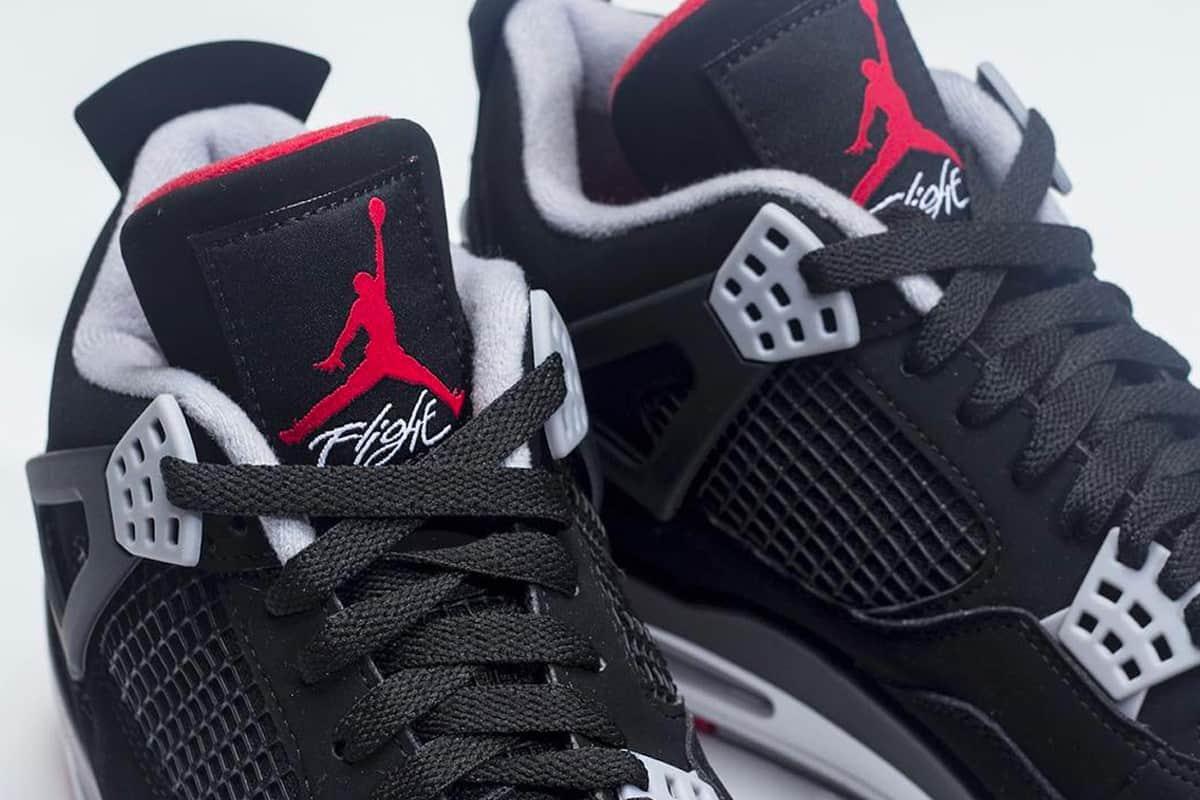 """Cận cảnh Air Jordan 4 """"Bred"""" Retro phiên bản 2019"""
