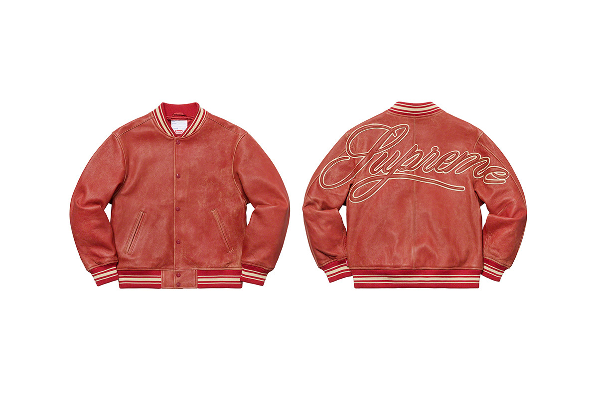Chiêm ngưỡng các sản phẩm trong bộ sưu tập áo khoác Xuân/Hè 2019 của Supreme