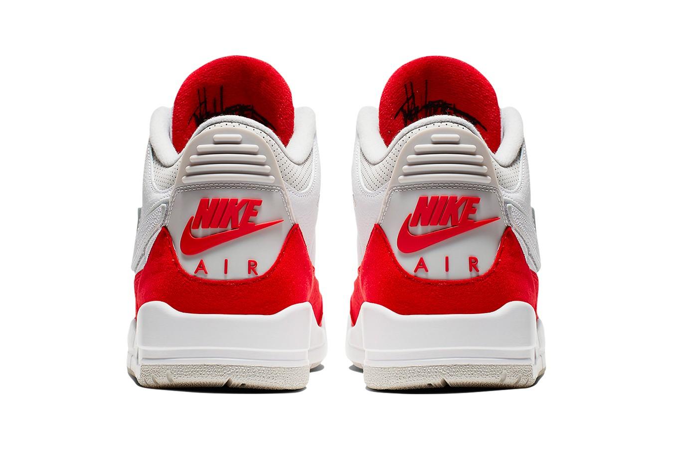 "Air Jordan 3 Tinker ""White/University Red"""