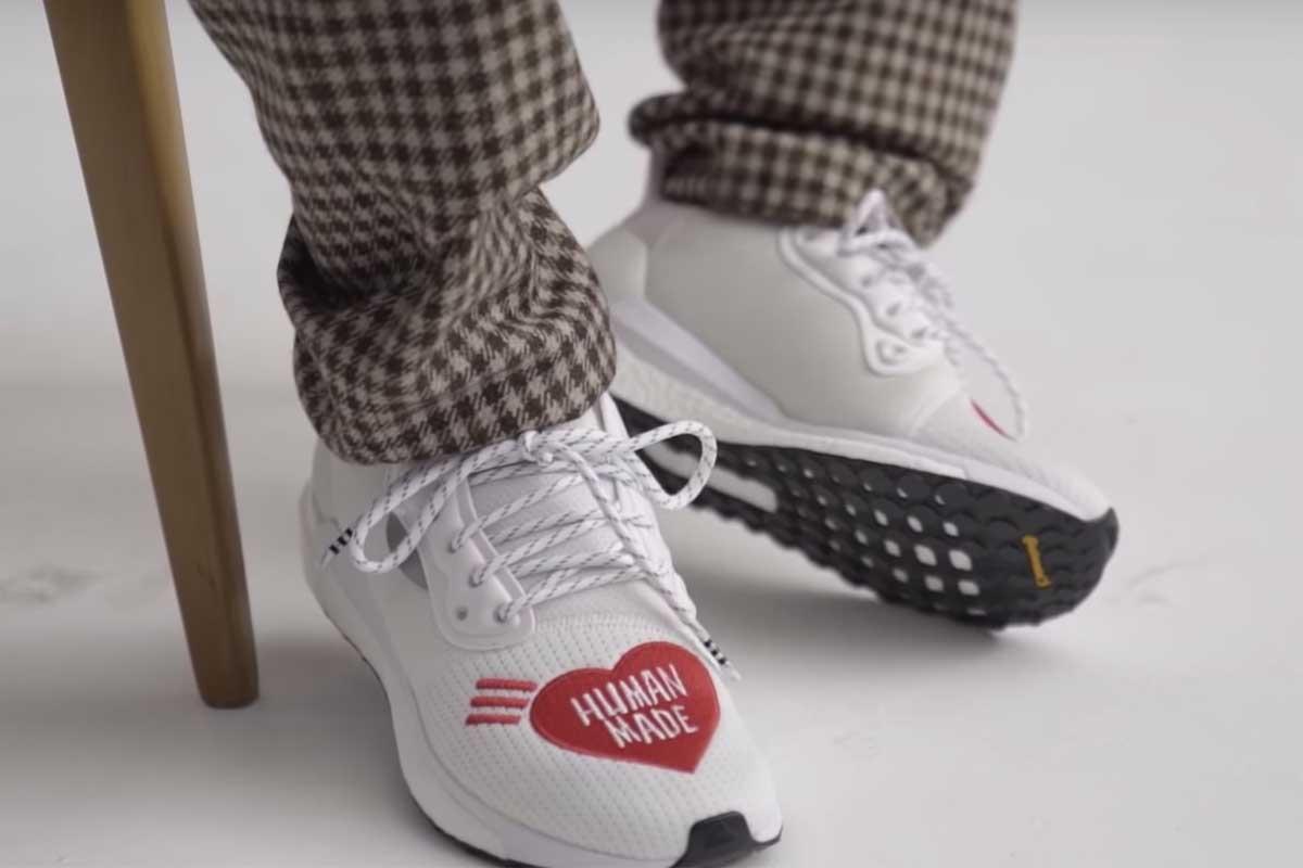 Pharrell Williams hé lộ siêu phẩm tiếp theo của adidas collab cùng HUMAN MADE