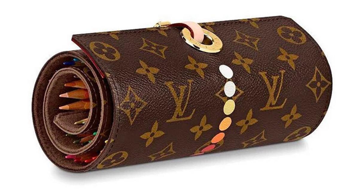 20 triệu cho một hộp bút chì màu Louis Vuitton 40 cây?