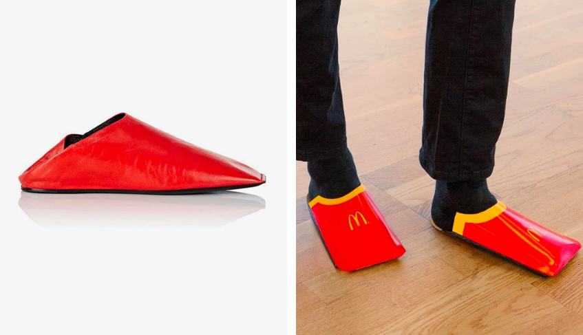 """McDonalds """"đá xéo"""" Balenciaga trong bài đăng mới nhất của họ"""