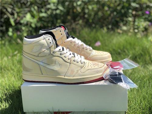 9c5963e62 Giày Nigel Sylvester x Air Jordan 1 màu vàng nhạt